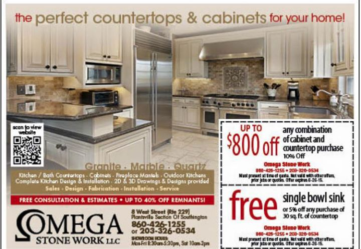Promotion: Up to 800$ off of any combination of cabinet and countertop purchase.